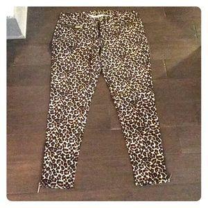 Michael Kors Leopard Jeans
